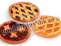 Пирог песочный с вишнями.  Пирог дрожжевой с вишнями или черешней.