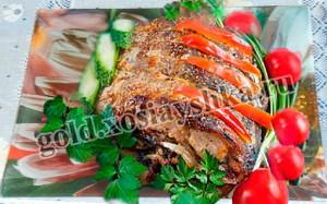 Рыба, запеченая в духовке