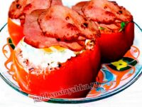 Яйца с помидорами по-техасски