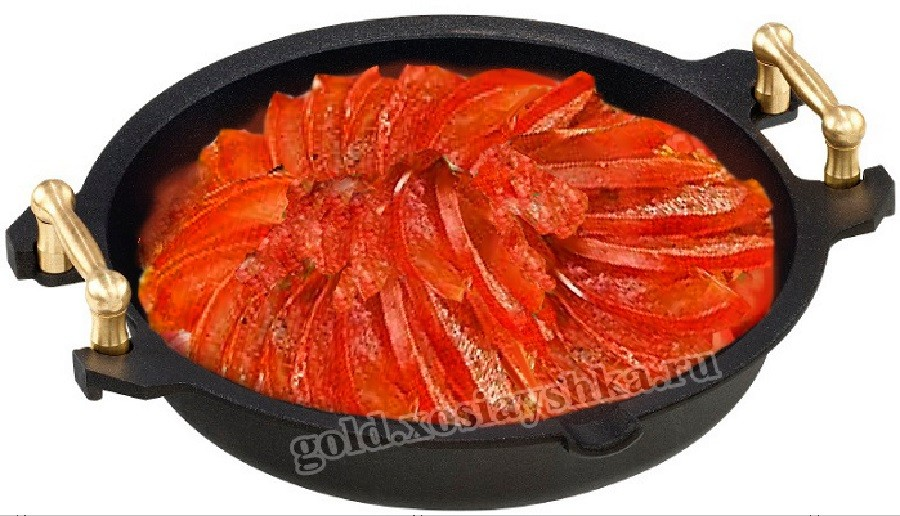 Тушим баклажаны и овощи