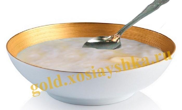 Каша молочная рисовая