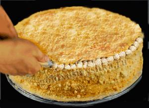 Торт из лосося