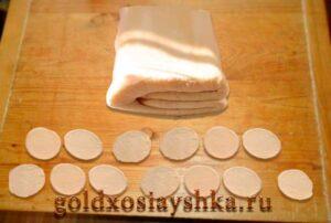 Слоеное тесто классическое (по картинке)