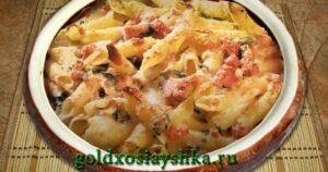 Домашняя лапша/макароны с ветчиной (Кликните по фото)