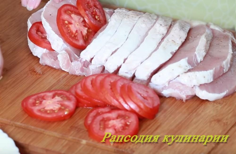 Гармошка мясная в духовке