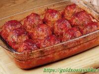 Тефтели «Дружба» в томатном соусе